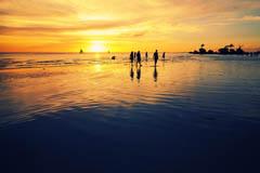 天空的顏色 長灘島 by pppppppp