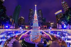 2013新北市歡樂耶誕城.聖誕樹.測試 by falconkimo