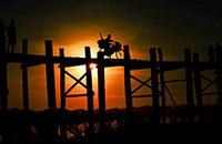 緬甸見聞---柚木橋