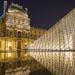 羅浮宮晚景