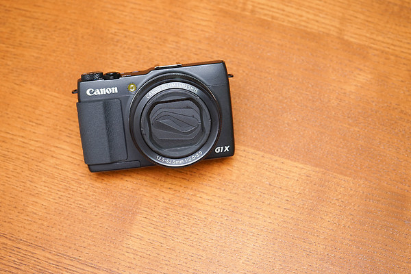 進化的隨身利器 - Canon Powershot G1X Mark II